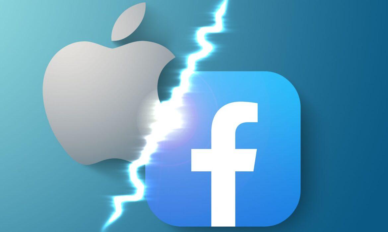 الصراع بين ابل و فيسبوك