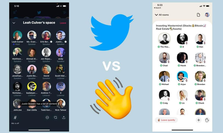 تويتر تنافس تطبيق كلوب هاوس